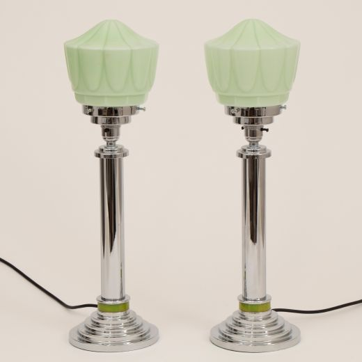 art deco lighting Art Deco Table Lamps  (item #2418)