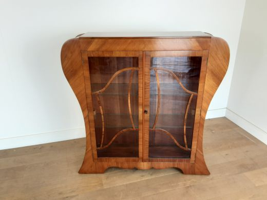 art deco display cabinets Art deco display cabinet bookcase (item #2436)
