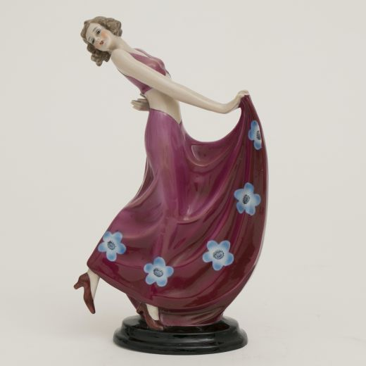 Figurines Art Deco German Porcelain Figure by Fasold & Stauch c.1930 (#2522)