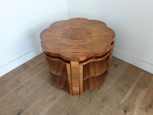art deco tables Art deco nest of table by harry and lou epstein (item #2561)