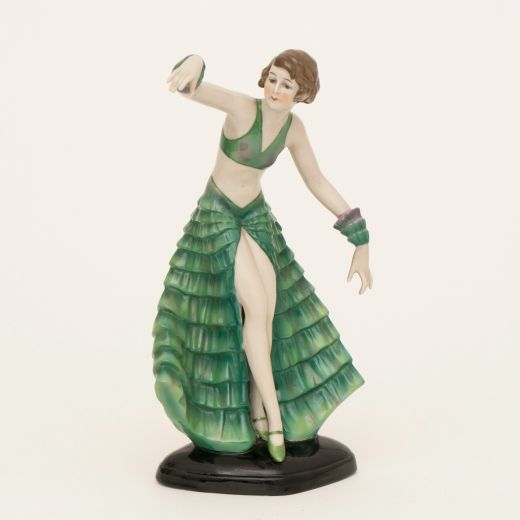 Figurines German Art Deco Figure by Fasold Stauch (item #2572)