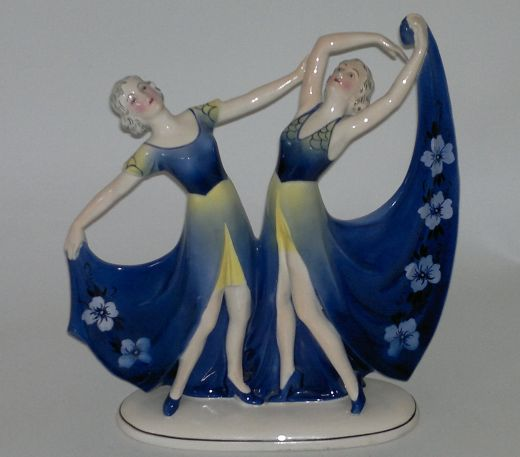Figurines Art Deco Figure (item #720)