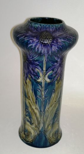 Morrisware Tall Thistle Vase (item #909)