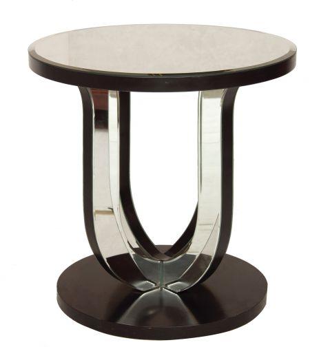 Art Deco Mirror Glass Table | Art Deco Tables | Gazelles of Lyndhurst