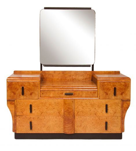 Art Deco Dressing Table | Art Deco Bureau | Gazelles of Lyndhurst